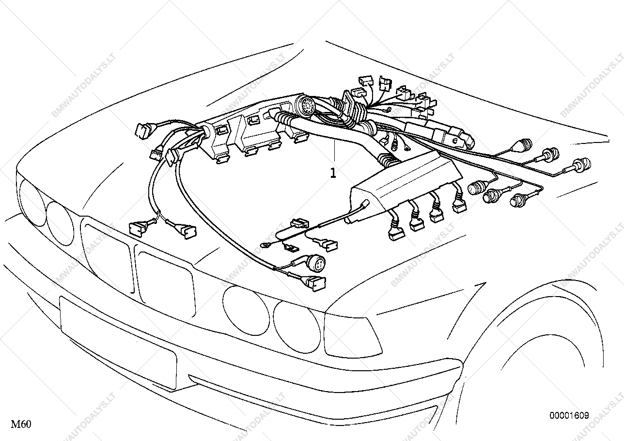 E38 Bmw Wiring Harness Diagram - WIRE Center •