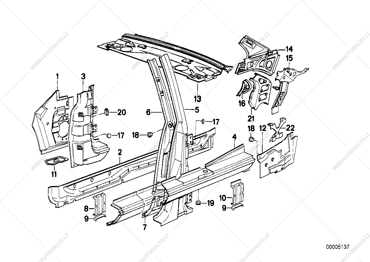 E30 M20 Engine Diagram Wiring Library 325ci 1990 Bmw 325i Exterior Parts Services U2022 Belt