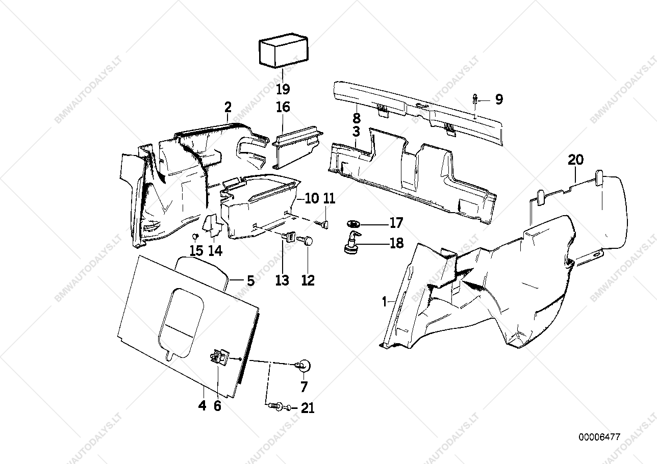 2001 Bmw 325i Vacuum Diagram Electrical Wiring Diagrams Trunk Parts Product U2022 E46