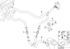 02 Basics Replacing Your Drive Belt together with Bmw E Camshaft Timing And Vanos Unit Installation Series in addition Bmw E60 530i Fuse Diagram as well Fuse Box In Bmw X5 2001 likewise 1994 Bmw 740il Engine Diagram. on bmw 545i serpentine belt diagram