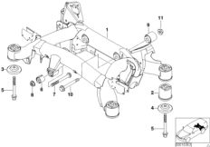 parts list is for bmw 5' e39, 540i touring (usa)
