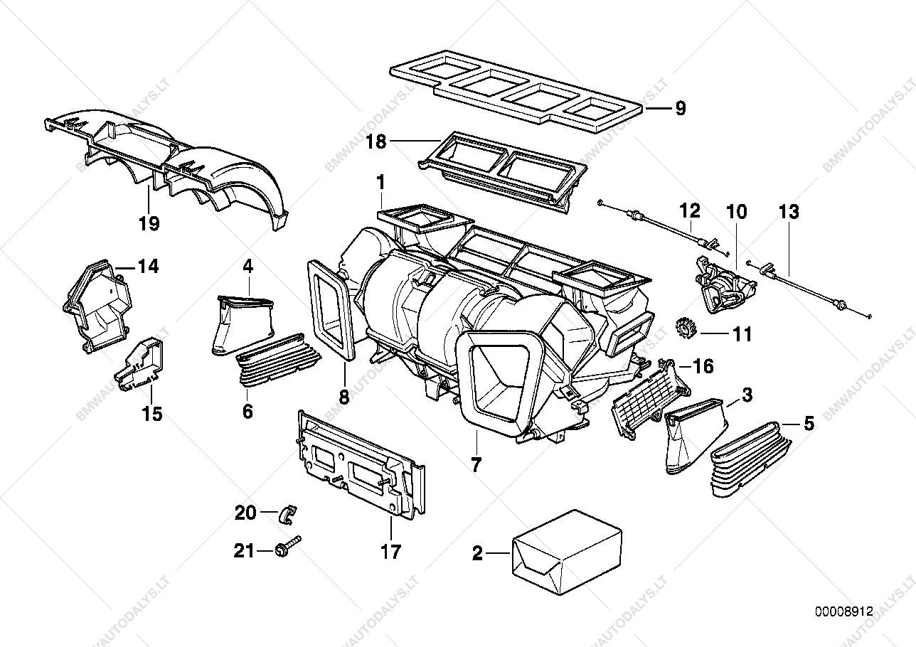 bmw e65 e66 engine parts diagram