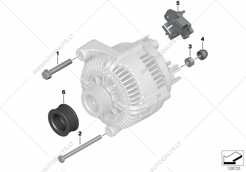Bmw 650i Engine Parts Diagram House Wiring Symbols Diagrams Alternator Individual For 6 E63 Lci Coupe Usa Rh Bmwautodalys Lt Mini Cooper Countryman 2010 Engines