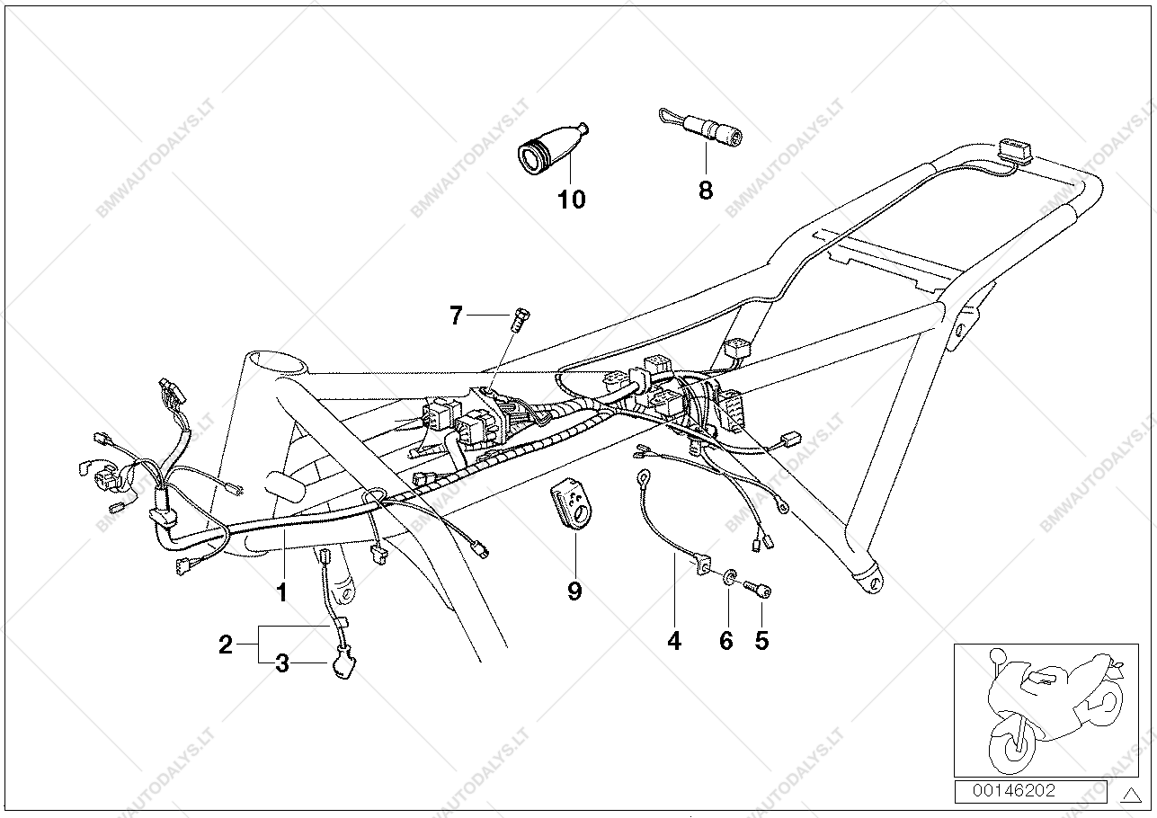 bmw k 1100 wiring diagram