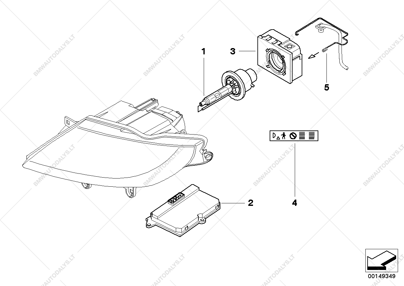 bmw z4 headlight parts diagram  u2022 wiring diagram for free