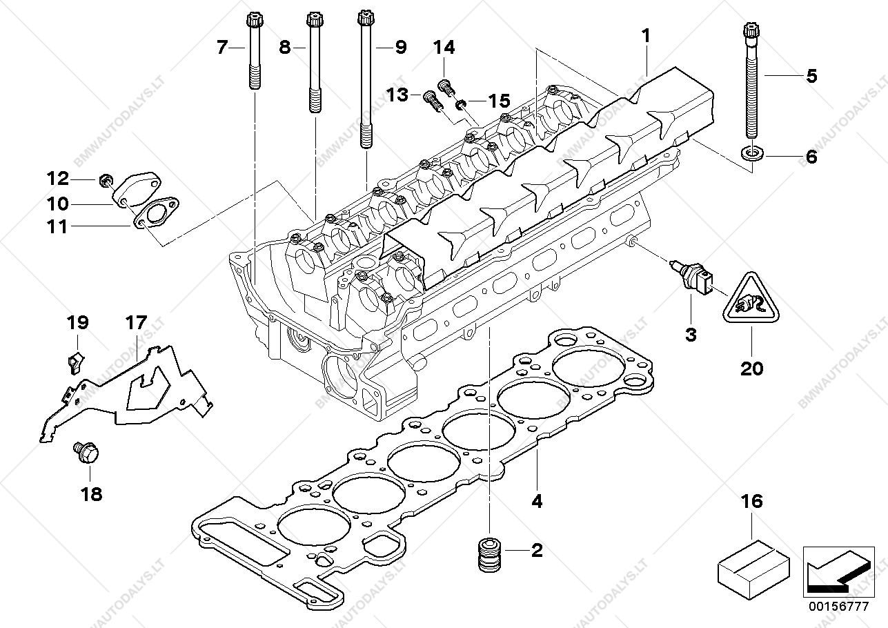 parts list is for bmw z4 e85, z4 3 0i m54 roadster (usa)