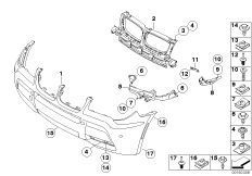 bmw x3 parts catalog with 12 on Bmw 5 Series 2 Door as well 51137052537 furthermore Bmw E90 Suspension furthermore 2004 Bmw X3 Parts Catalog together with AS 6006 2RS.