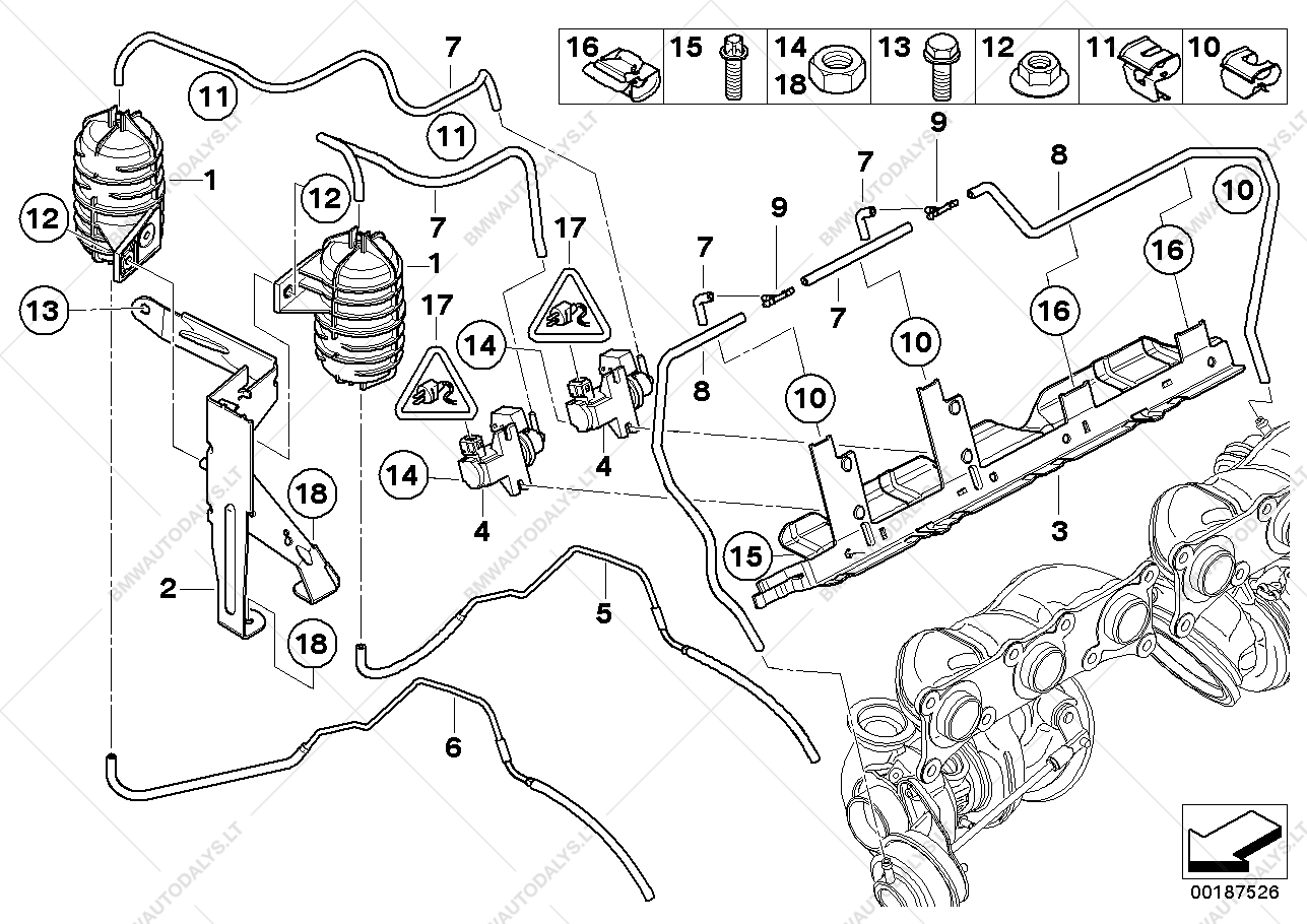 Parts list is for BMW Z4 E89, Z4 35i Roadster (ECE)