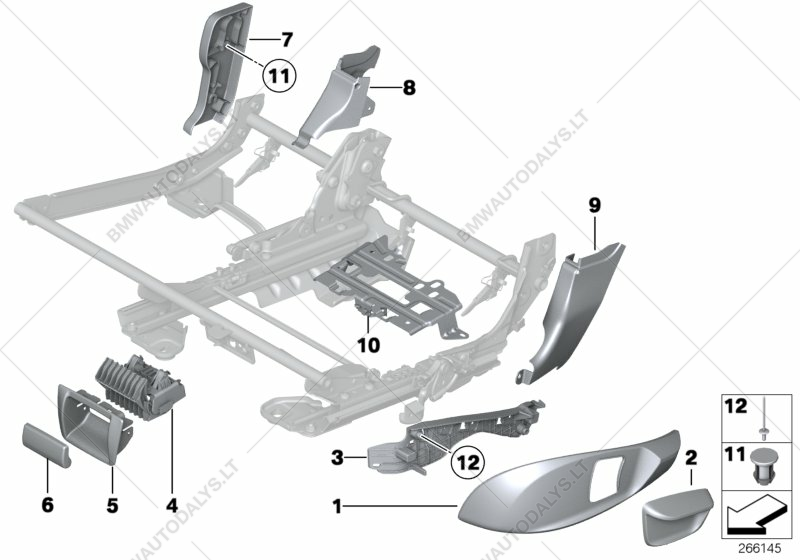 e127986c4c1b Parts list is for BMW 5  F07 GT