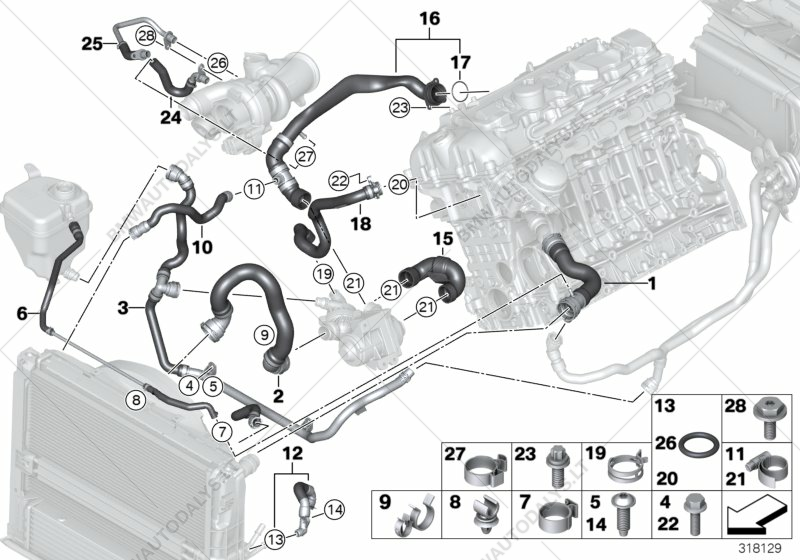N54 Engine Cooling System Diagram Complete Wiring Diagrams