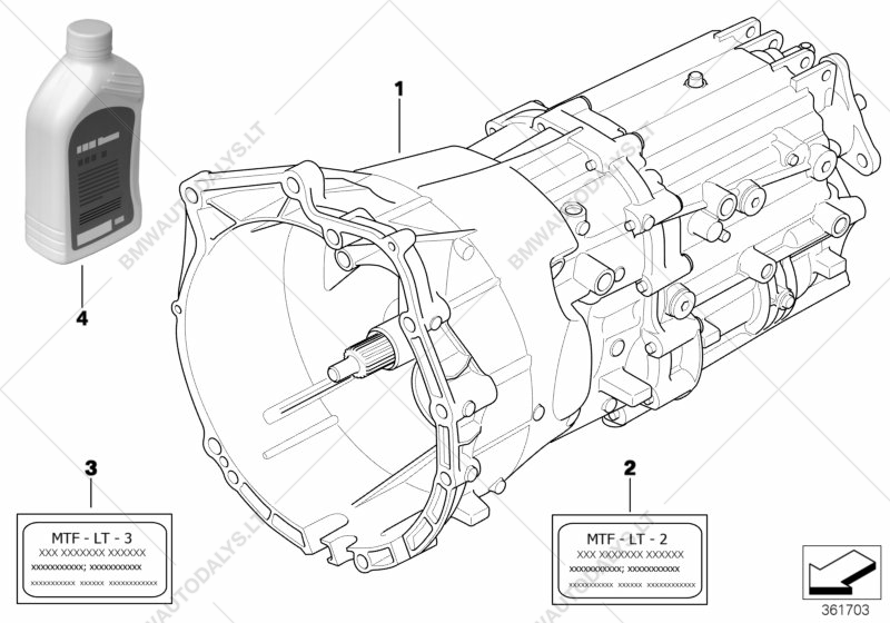 manual transmission gs6 37bz dz for bmw 3\u0027 e46, 330ci convertible BMW Radiator Diagram parts list is for bmw 3\u0027 e46, 330ci convertible (ece)