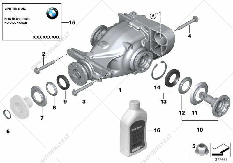 Fine Differential Drive Output For Bmw 3 E92 320I N43 Coupe Ece Bmw Wiring Digital Resources Caliashwinbiharinl