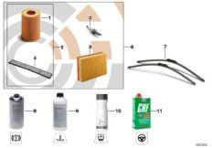 Service Kit, Inspection I / Oil service