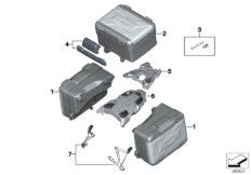 Set of case holders, Vario cas