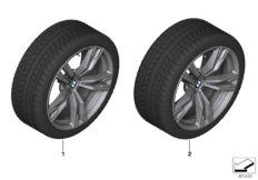 TPM wheel&tire winter orbit grey