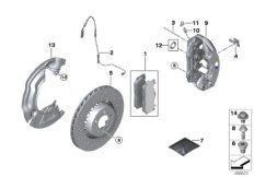 Repair kit, brake pads