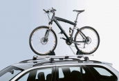 Touring bicycle holder