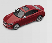 Modeliukas BMW 2 Series Coupe (F22) 1:43; Melbourne Red