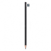 Flag label pen, black