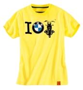 Vaikiški marškinėliai Roadster, Yellow