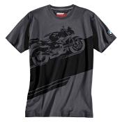 Uniseks marškinėliai S1000 R, Grey/Black