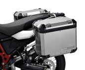 Aluminium pannier, right