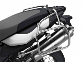 Aluminium pannier rack, left