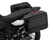 Black variable pannier, left