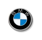 BMW ženkliukas su logo