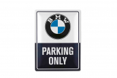 BMW CLASSIC METAL PLATE