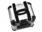 Carry handles for aluminium panniers