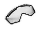Podwójna szybka okularów Enduro GS, bezbarwna