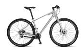 "Rower BMW Cruise Bike 28"" Glossy Silver"