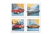 Obrazy na płótnie BMW Classic, zestaw 4 szt.