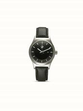 BMW Classic Watch, men. Leather, black.