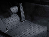 Floor mats, all-weather, front