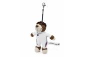 BMW Motorsport Teddy Bear Pendant