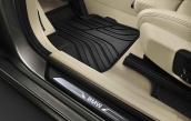 All-weather floor mats, front, anthrazit-beige