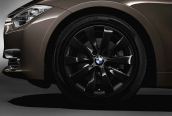 Wheel with winter tyre Bridgestone Blizzak LM-001 RFT  225/50R17 94H