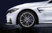 Wheel rear with winter tyre Michelin Pilot Alpin 4   255/35R18 94V XL