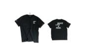 MAKE LIFE A RIDE men's black T-shirt