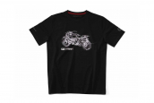 NINET SCRAMBLER T-shirt, unisex