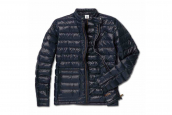 BMW Men's Soft Down Jacket, dark blue
