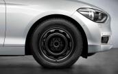 Wheel with winter tyre Bridgestone Blizzak LM-001 RFT  205/55R16 91H
