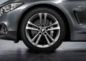 18' compl. summer wheels set: light alloy rims, RDC sensor, tires Goodyear Efficient Grip ROF