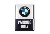 BMW CLASSIC METAL PLATE