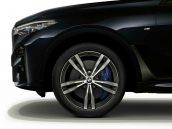 Wheel with winter tyre Bridgestone Blizzak LM-001 RFT  285/45R21 113V XL