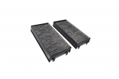 Set, microfilter/activ. charcoal filter