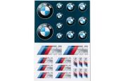 BMW sticker set