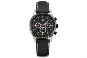 BMW chronograph leather strap